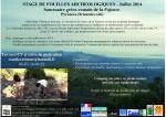 Campagne de fouille Fajouse (66),  juillet 2014